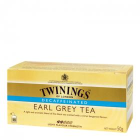 Twinings te earl grey descafeinado 25