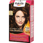 Schwarzkopf palette tinte intense color cream castaño medio chocolate nº 3 65 coloracion cuidado intensivo en caja