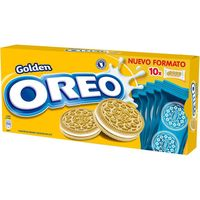 Oreo galleta golden de 220g.