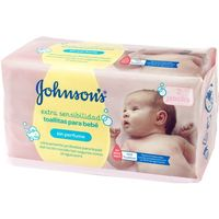 Johnson´s Baby toallitas bebe sensitive bebe 72 en paquete