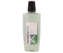 Kemphor enjuague bucal con clorhexidia sin alcohol de 50cl.