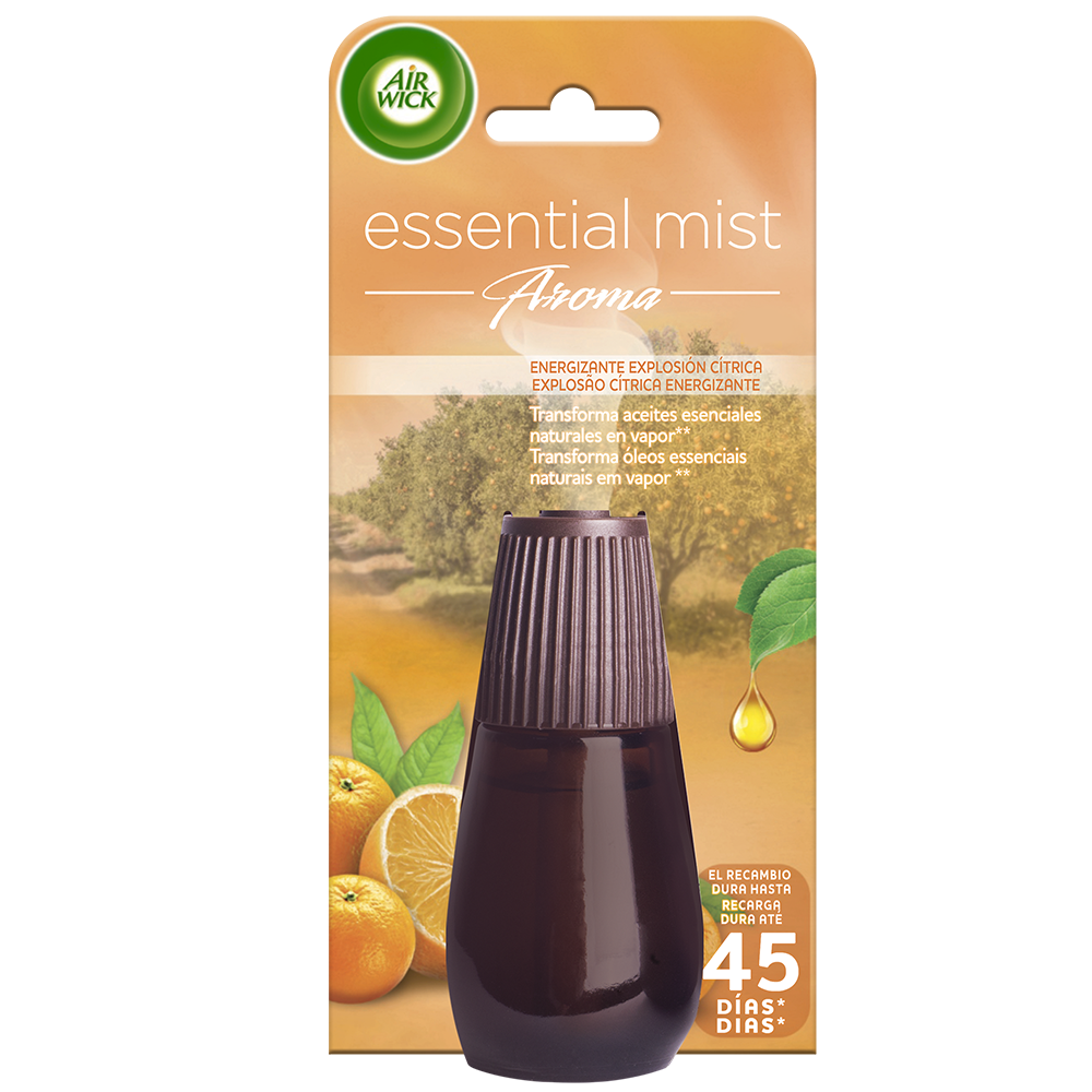 Air Wick ambientador essential mist explosion citrica ad 1