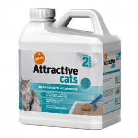 Affinity arena absorbente attractive cats de 6,36kg.