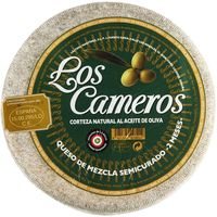 Los Cameros queso mezcla semicurado al corte de 300g.