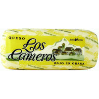 Los Cameros queso barra light al corte de 300g.