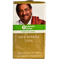 Intermón Oxfam cafe 100% arabica de 250g.
