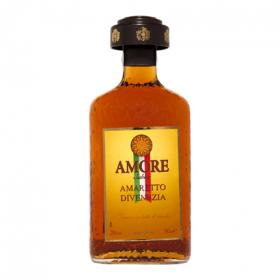 Amaretto licor amore mio de 70cl.