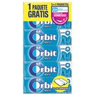 Orbit chicle grageas menta p5 en paquete