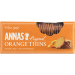 Annas original orange thins galleta de 150g. en paquete