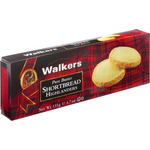 Walkers shortbread highlanders galletas mantequilla estuche de 135g.