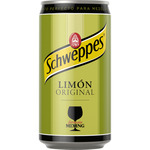 Schweppes original refresco limon de 25cl. en lata