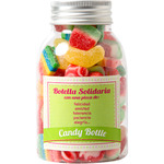 Fundashop candly bottle solidaria de gominolas envase de 214g. en botella