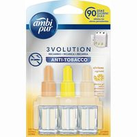 Ambi Pur recambio electrico 3 volution anti tabaco