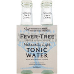 Fever Tree light tonica de 20cl. por 4 unidades en botella