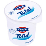 Total yogur griego natural 0% envase de 1kg.