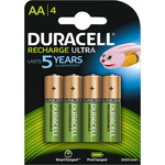 Duracell pila recargable active charge aa hr6 dx1500 blister por 4 unidades