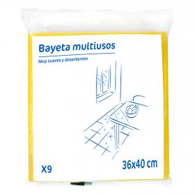 Carrefour Discount 9 und bayeta multiuso colores