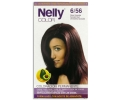 Nelly tinte en crema rojo granate nº color 6/56