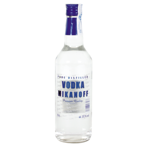 Mikanoff  vodka de 70cl. en botella