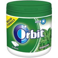 Orbit chicle hierbabuena en grageas 60