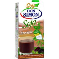Don Simon bebida soja chocolate de 1l.