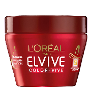Elvive mascarilla capilar color vive loreal de 30cl.
