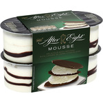 After Eight mousse mente con chocolate negro de 57g. por 4 unidades