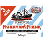 Fisherman's Friends fishermans friend extra fuerte chicles sin azucar x de 60g. por 3 unidades