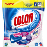Colon total power gel caps detergente maquina liqudo vanish ultra con agentes quitamanchas envase 32
