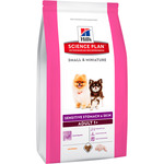 Hill's Science plan adult small & miniature alimento perros estomago piel sensible con pollo envase de 1,5kg.