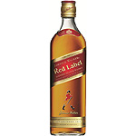 Johnnie Walker whisky escoces etiqueta roja de 1l.