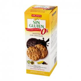 Virginias galletas chocolate sin gluten de 135g.