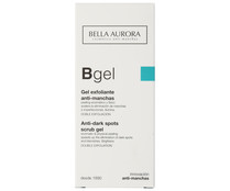 Bella Aurora gel con doble acci?n exfoliante antimanchas de 75ml.