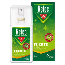 Relec repelente mosquitos fuerte sensitive de 75ml. en spray