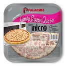 Palacios pizza mini micro jamon bacon queso de 225g.