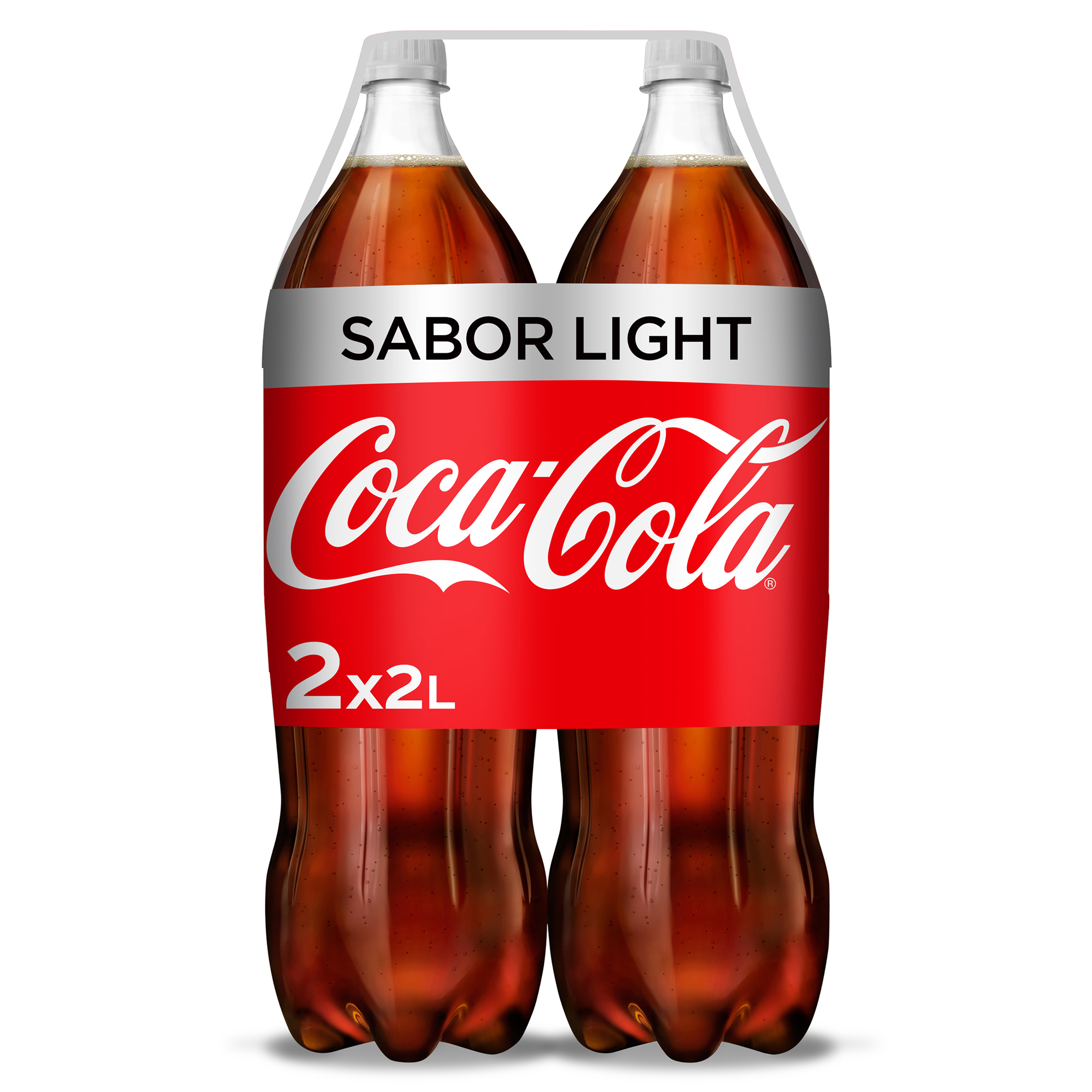 Coca Cola light de 2l. por 2 unidades