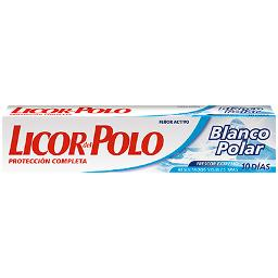 Licor Del Polo dentifrico blanco polar de 75ml.