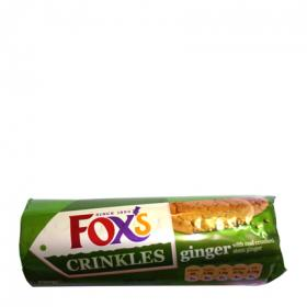 Galletas crinkle crunch ginger fox's de 250g.