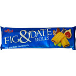 Regal fig and date rolls galletas rellenas higo datil de 150g. en paquete