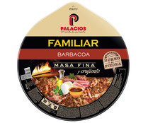 Palacios pizza familiar barbacoa de 580g.