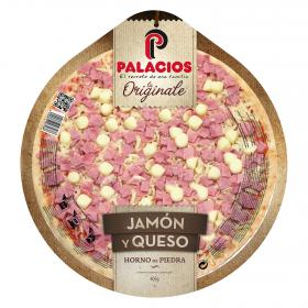 Palacios pizza jamon queso originale de 405g.