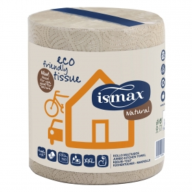 Ismax papel rollo multiusos eco natural