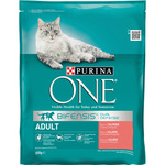Purina One bifensis pienso peri gato adulto ricco salmon cereales integrales 800 g