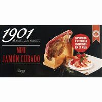 Lote de mini jamon curado 1901.