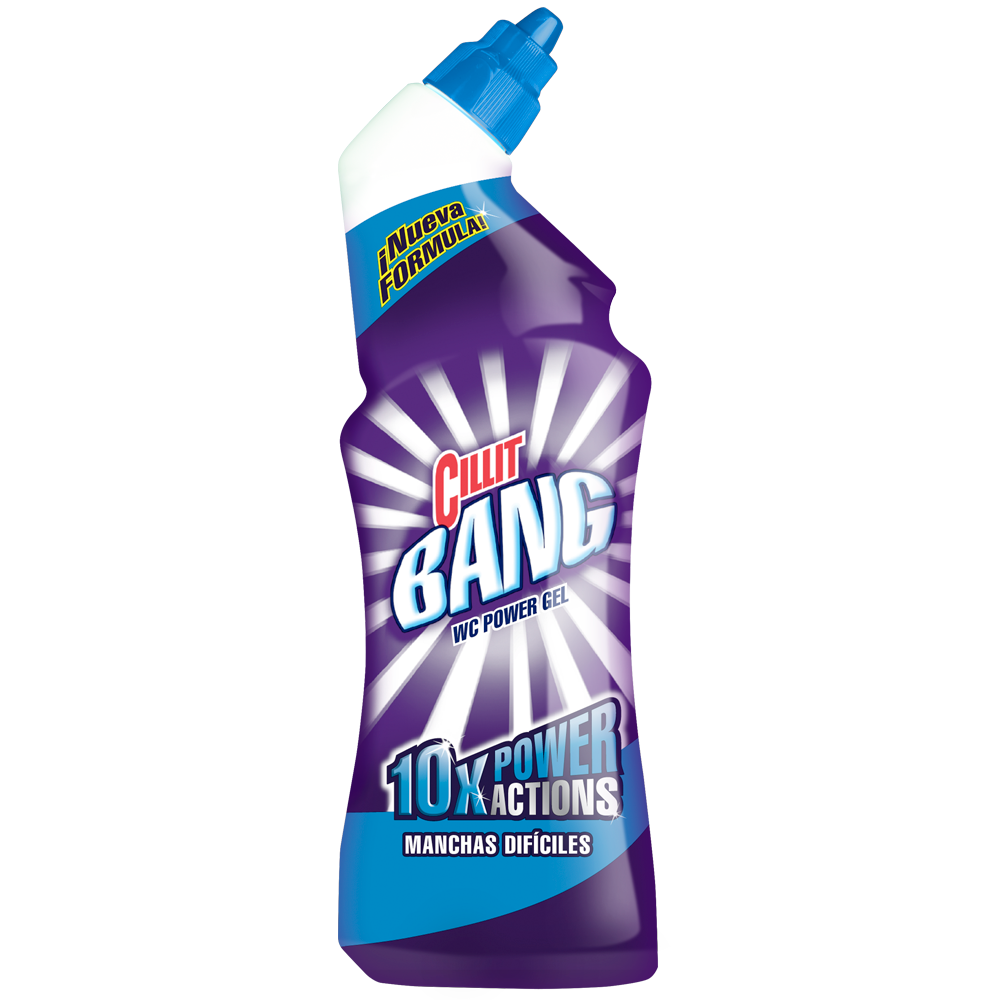 Cillit Bang wc power gel manchas dificiles de 70cl. en botella