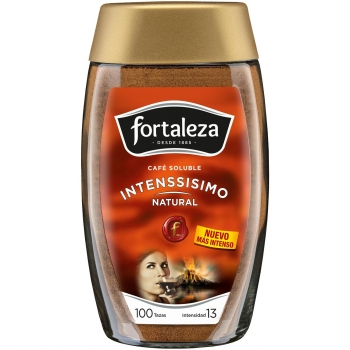 Fortaleza cafe soluble natural de 200g. en bote