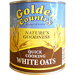 Golden country copos de avena de 500g. en lata