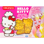 Virginias galletas sin gluten sin lactosa hello kitty virginia de 120g.