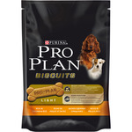 Purina Pro Plan biscuits light perro adulto galletas ricas en pollo arroz de 150g. en bolsa