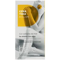 Belle cera tibia con bandas roll on de 12cl.